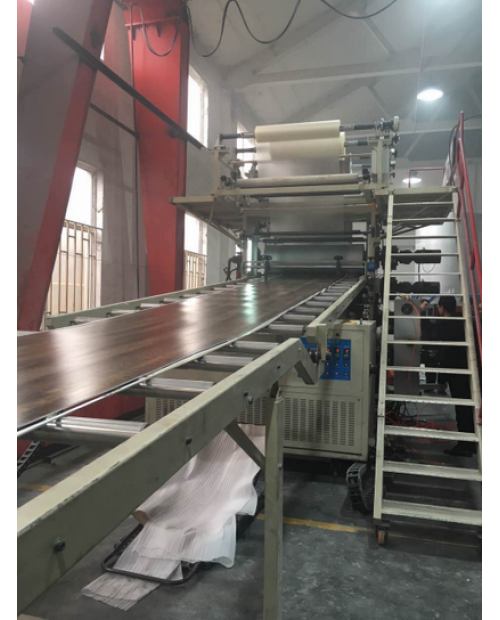 Rigid LVT Production Line