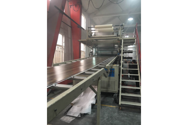 Rigid LVT Production Line